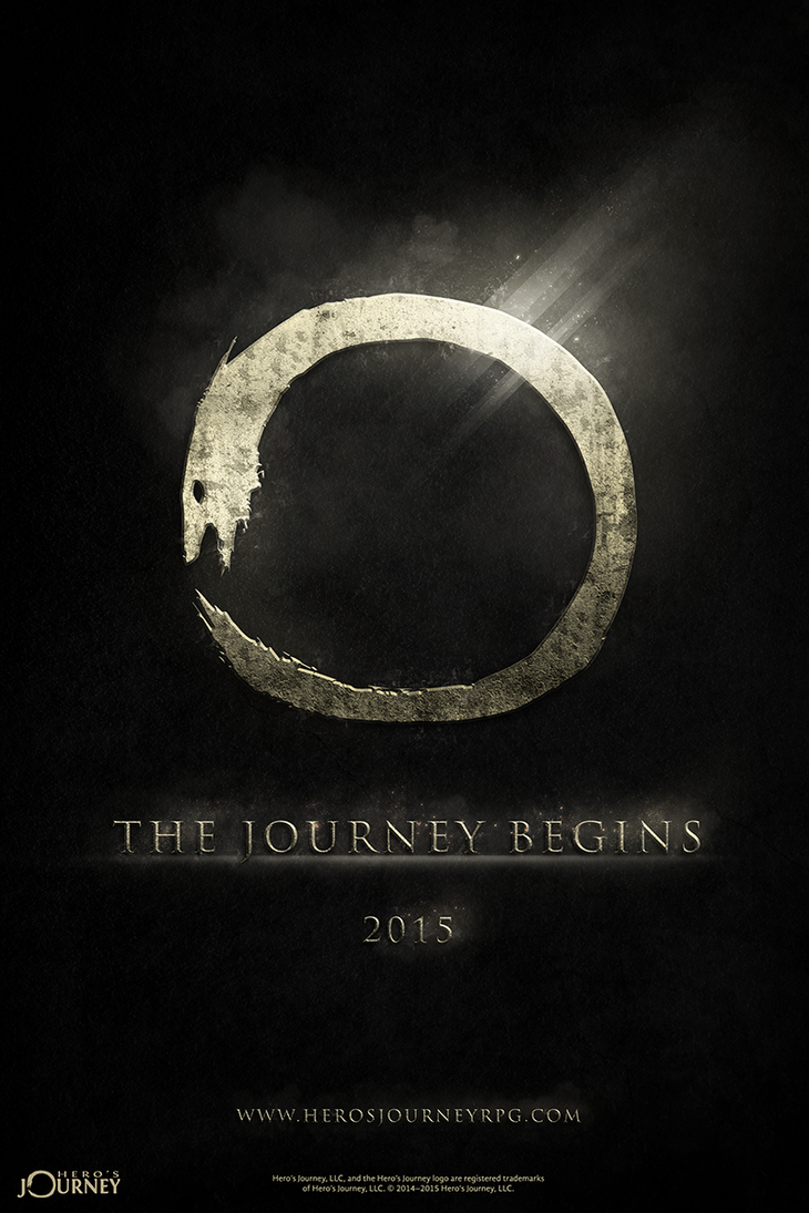 Hero's Journey Teaser Poster by Voidshaper87