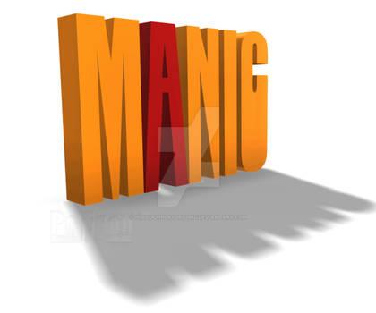 San Serif Frolic MANIC