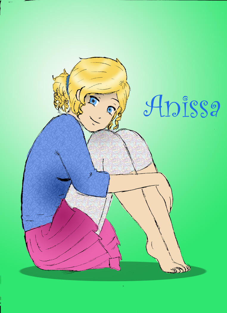 Anissa Sitting cute by whoadude456