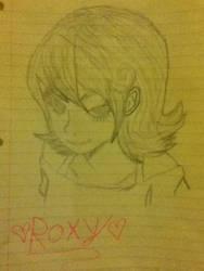 i drew Roxy!!!!
