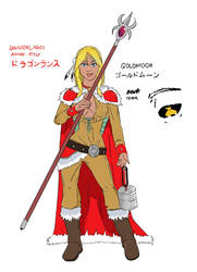 Anime Goldmoon request by DrEllert