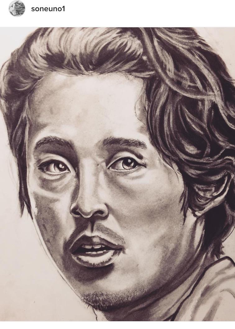 Glenn The Walking Dead by Soneuno