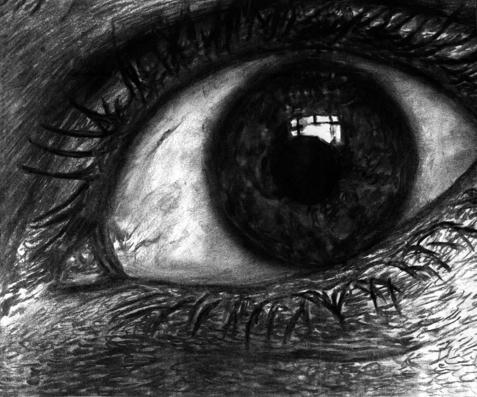 Charcoal Eye by ollyver