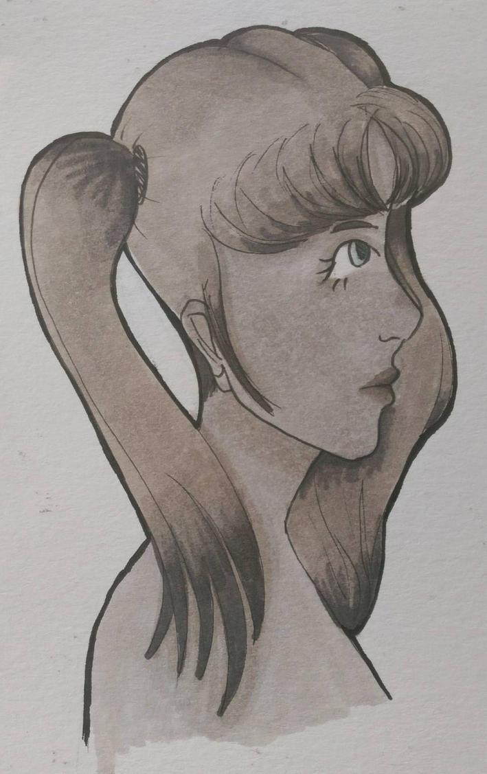 Side Profile by Domini-o