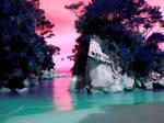 Ocean Island Background