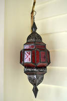 Red Moroccan Lantern by jojo22