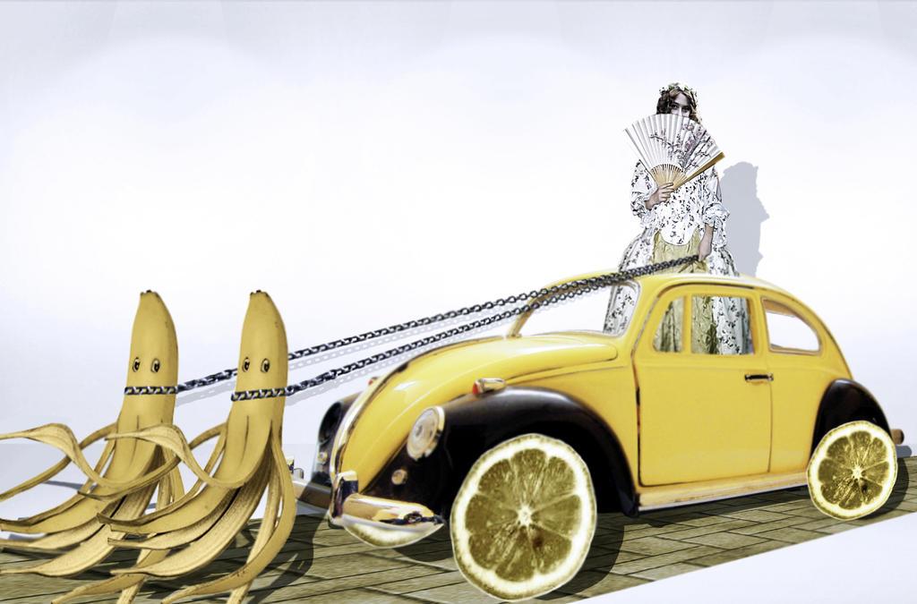 Driving You Bananas by jojo22