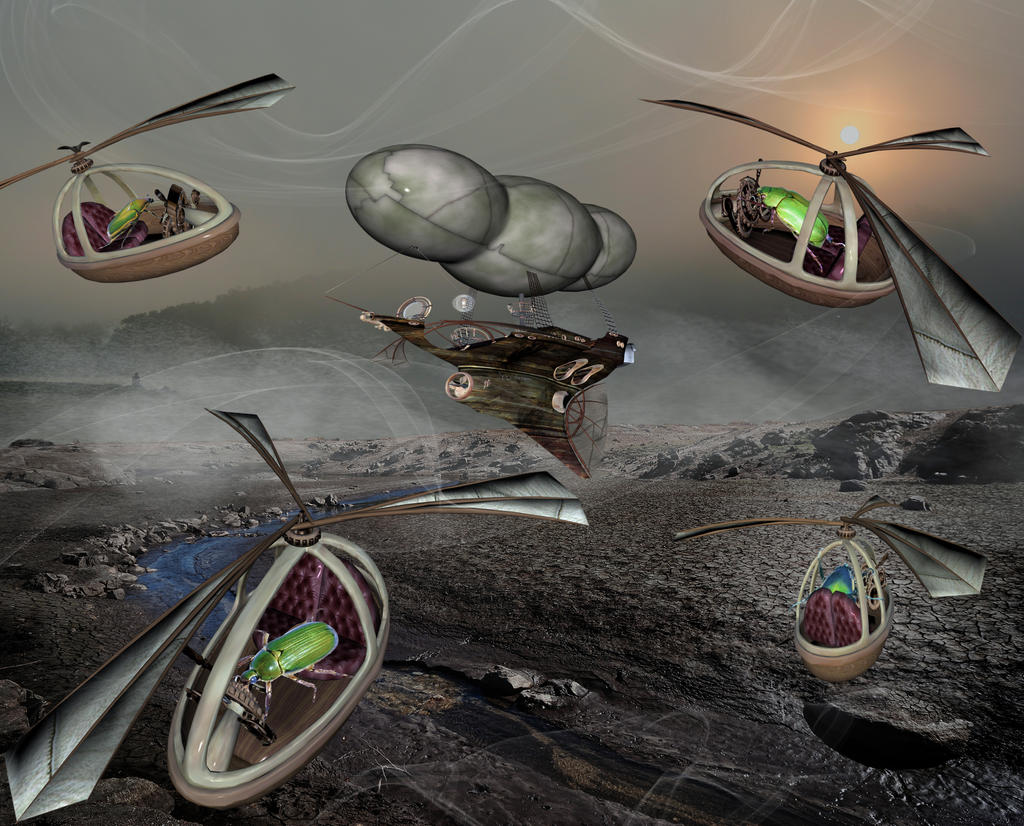 Bugs In Space by jojo22