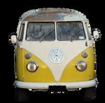 VW Van PNG Stock