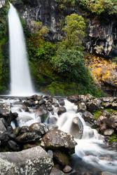 Dawson Falls in Taranaki