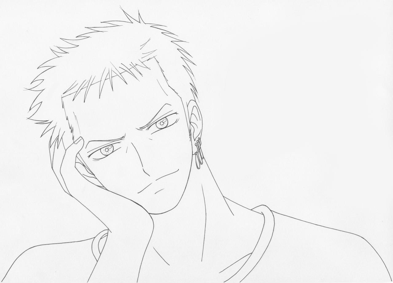 Roronoa Zoro - One Piece by KaenDD