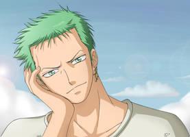 Roronoa Zoro -- One Piece by KaenDD