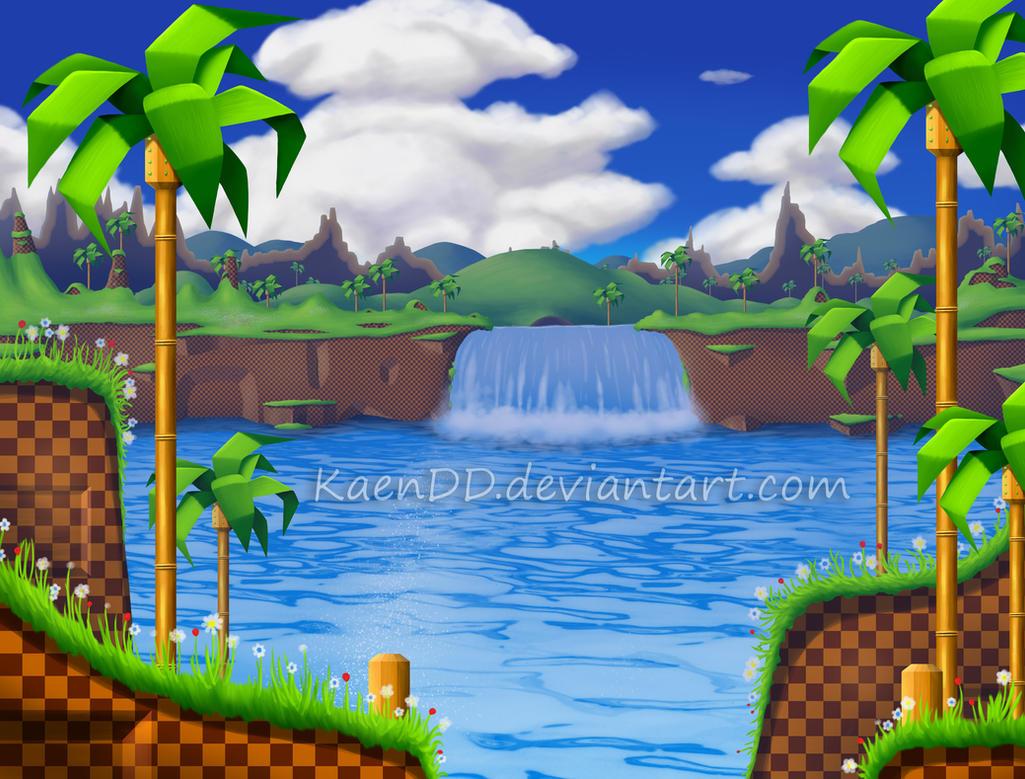 Sonic Green Hill Zone ...