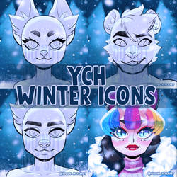 Winter YCH Icon Commissions [ OPEN ]