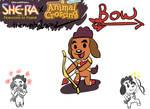 Animal Crossing Bow