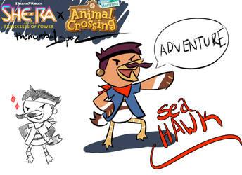 Animal Crossing Sea Hawk