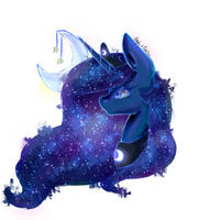 Luna | Collab with PudinDess by xKittyblue