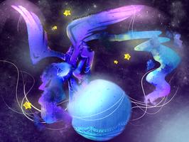 MLP Luna | Lunar Angel by xKittyblue