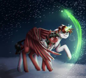Snowstorm | Commission by xKittyblue