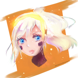 Mercy Doodle by xKittyblue