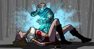 gnomish healer by hamdiggy