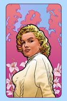 Monroe in Mucha by hamdiggy