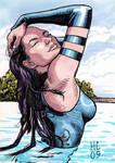 Sketchcards Marvel Psylocke