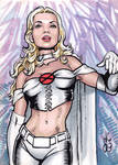 Sketchcards Marvel White Queen