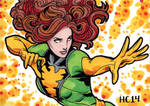 Sketchcards Marvel Jean Grey