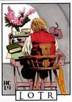 Sketchcards - LOTR - Bilbo