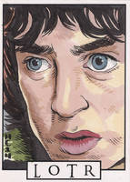 Sketchcards - LOTR - Frodo by hamdiggy