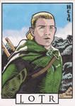 Sketchcards - LOTR - Legolas