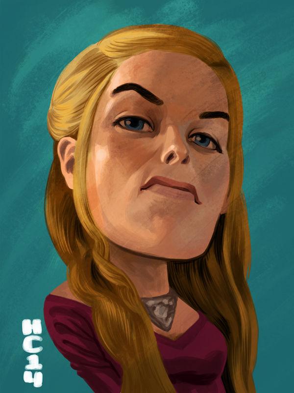 Cersei Lannister by hamdiggy