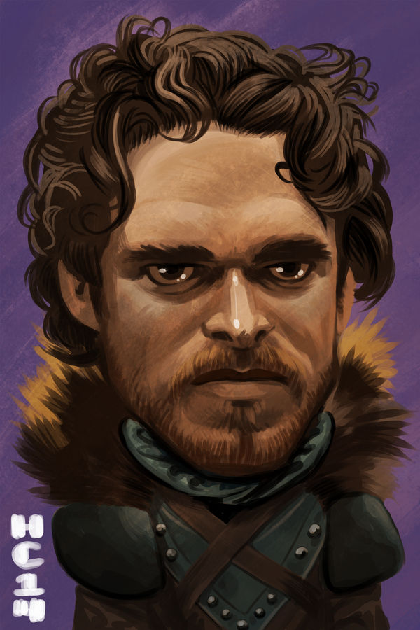 Robb Stark by hamdiggy