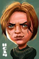 Arya Stark by hamdiggy