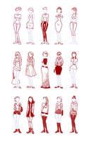 Fashion Girls by hamdiggy