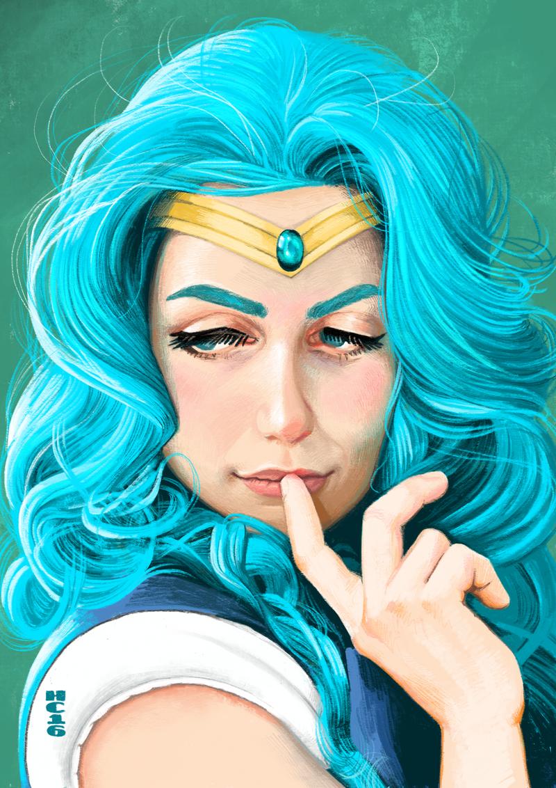 Sailor Neptune by hamdiggy