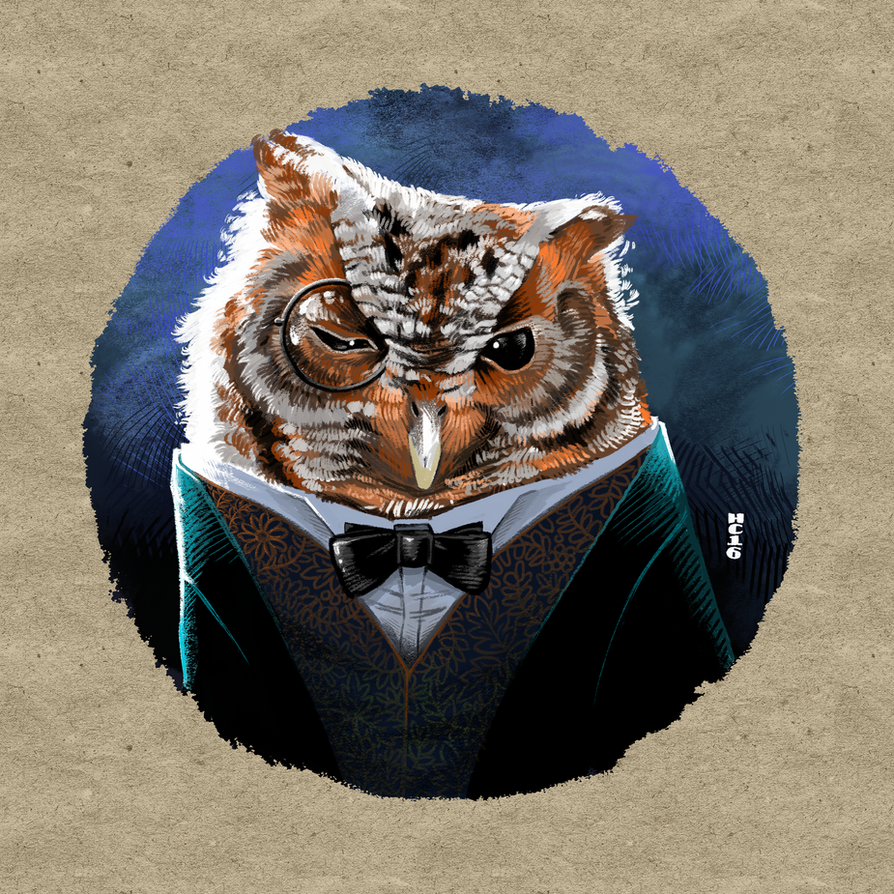 Bowleresque Owl by hamdiggy