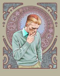 David Bowie in Mucha