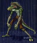 lizard guy dude colored