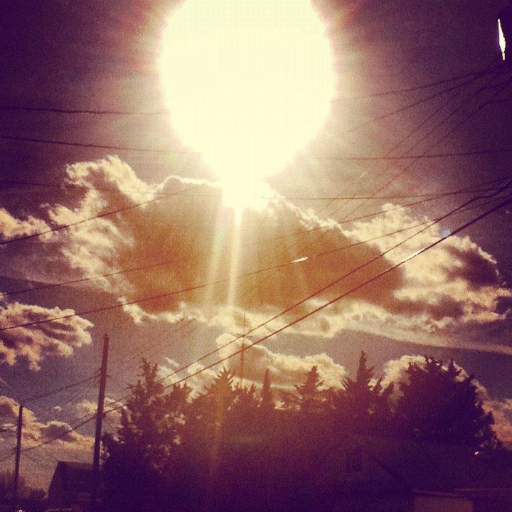 I like the sky. by squarah1018