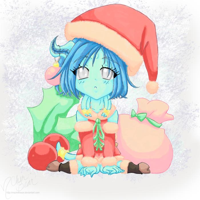 WoW: Christmas Kallista1 -color- by mscherbear