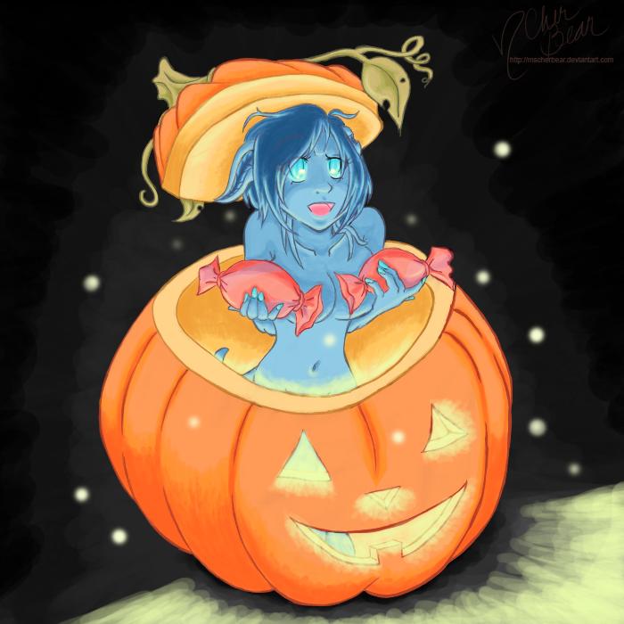 WoW: Hallows Eve 2014 Kallista -color- by mscherbear