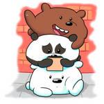 We Bare Bears: #bearstack -color- by mscherbear