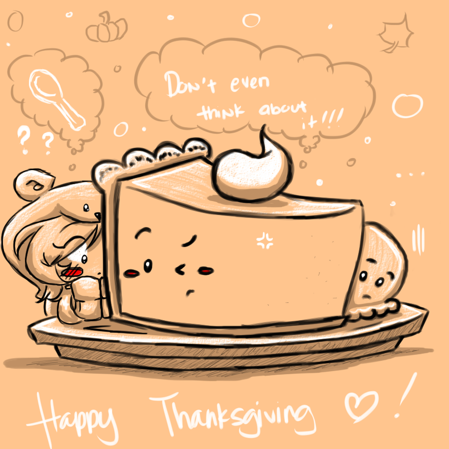Audi: CherBear Chibi Thanksgiving 2016 by mscherbear