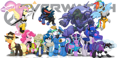Project PPC: PPC + MLP + Overwatch pt5 by mscherbear