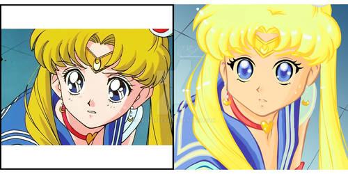 Meme: Sailor Moon Redraw