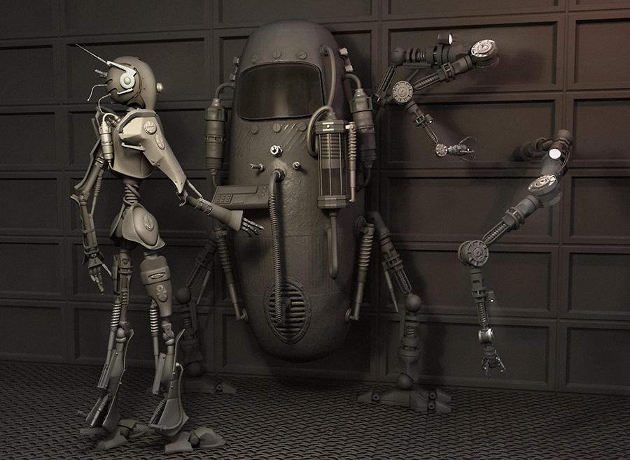robots illustratoin