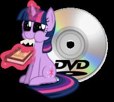 DVD Decrypter Twilight Icon by TwilightSparkle4ever