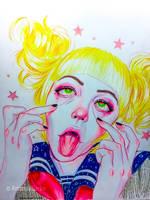 Toga Himiko by AmandaDarko